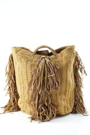 Zara Shopper hellbraun extravaganter Stil