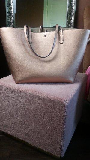 Zara Shopper in Bronze