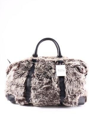 Zara Shopper noir-crème style mode des rues