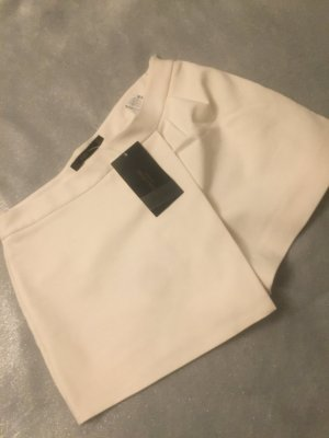 Zara Short blanc-blanc cassé