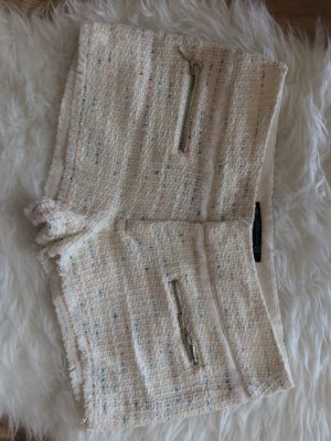 Zara Shorts 38 M neu Boucle weiß Sommer