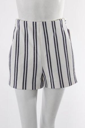 Zara Shorts blau-weiß