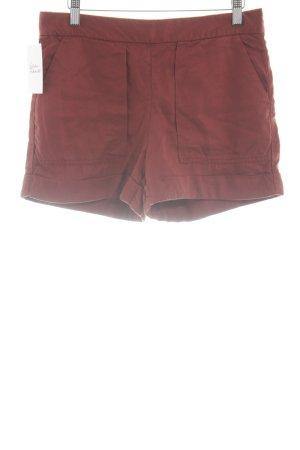 Zara Shorts dunkelrot Beach-Look