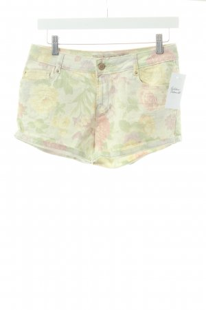 Zara Shorts florales Muster Casual-Look