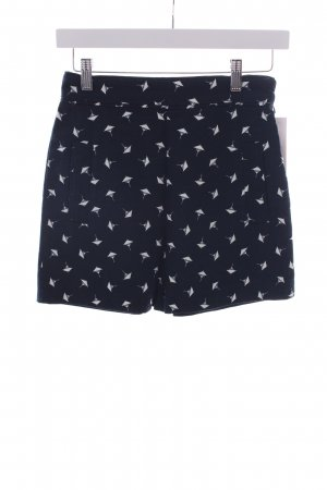 Zara Shorts grafisches Muster Casual-Look