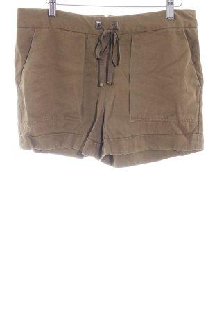 Zara Shorts grüngrau sportlicher Stil