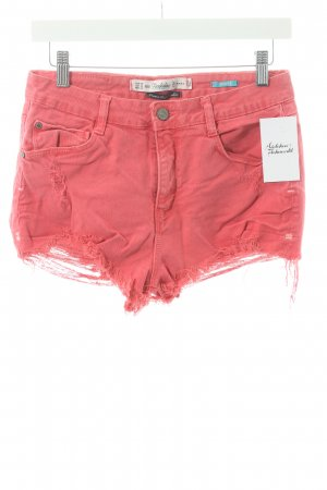 Zara Shorts hellrot Casual-Look