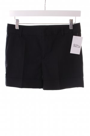 Zara Shorts schwarz Business-Look