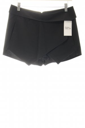 Zara Shorts schwarz Party-Look