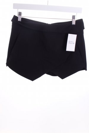 Zara Shorts schwarz Street-Fashion-Look