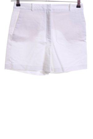 Zara Shorts bianco stile casual