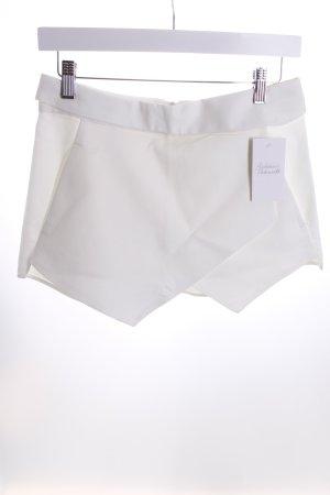 Zara Short blanc cassé style mode des rues