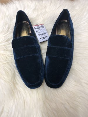 Zara Mocassino blu scuro