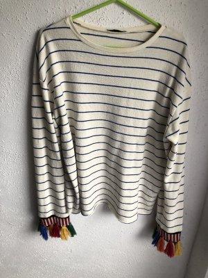Zara Sweatshirt multicolore