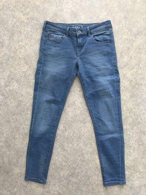 Zara 7/8-jeans azuur-blauw