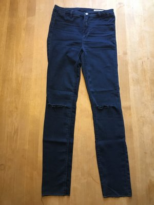Zara Skinny Cropped Jeans