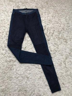 Zara Pantalón azul oscuro