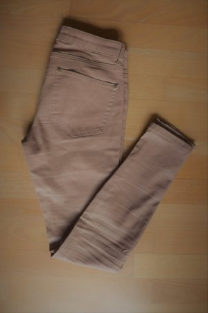 Zara Pantalon cigarette multicolore