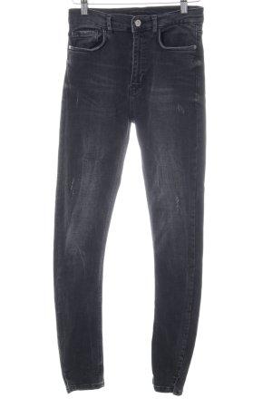 Zara Skinny Jeans schwarz klassischer Stil