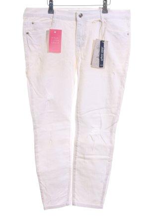 Zara Skinny Jeans weiß Business-Look