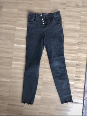 Zara High Waist Jeans black
