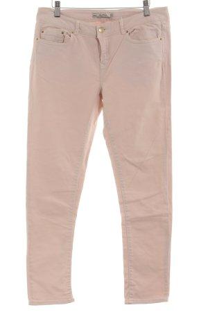 Zara Skinny Jeans altrosa Casual-Look