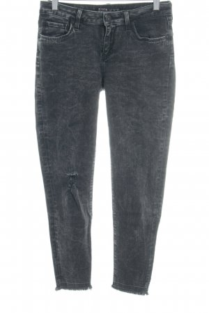 Zara Skinny Jeans anthrazit Urban-Look
