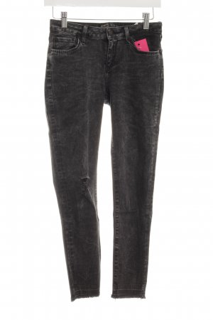 Zara Skinny Jeans anthrazit Urban-Look