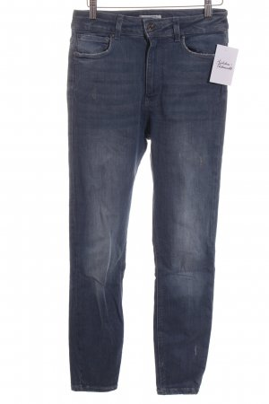 Zara Skinny Jeans blau Casual-Look
