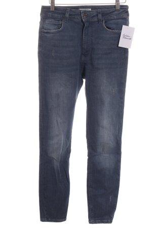 Zara Jeans skinny bleu style décontracté