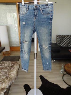 ZARA Skinny Jeans, blau, Gr. 36, neu!