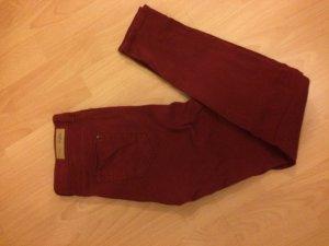 Zara Skinny Jeans Bordeaux