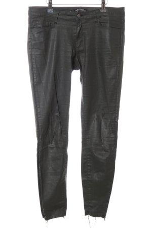 Zara Jeans skinny nero stile casual