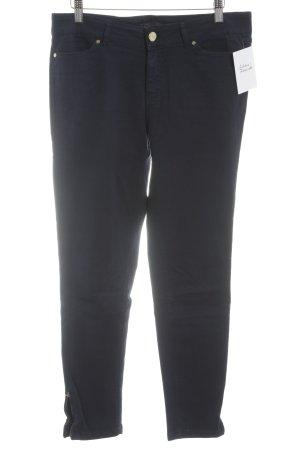 Zara Skinny Jeans dunkelblau Casual-Look