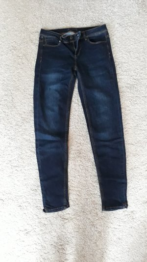 Zara Skinny Jeans dunkelblau Gr.36