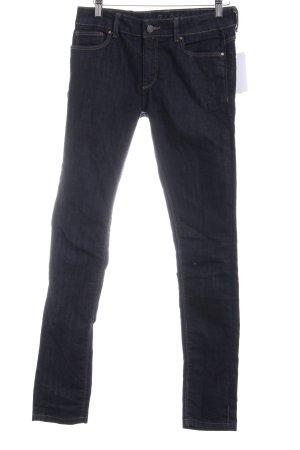 Zara Skinny Jeans dunkelblau klassischer Stil