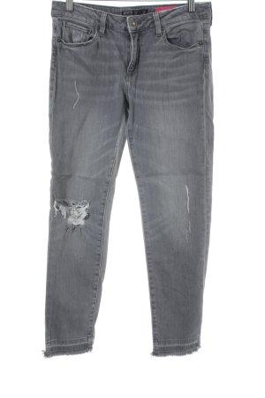 Zara Vaquero skinny gris estilo relajado