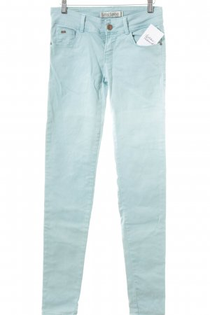 Zara Skinny Jeans graugrün Casual-Look