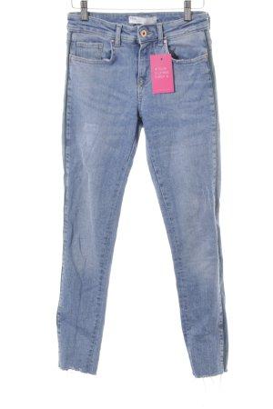 Zara Skinny Jeans hellblau Casual-Look