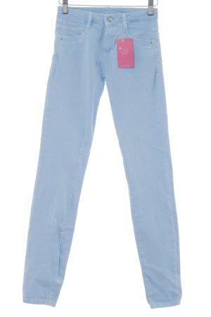 Zara Skinny Jeans himmelblau Casual-Look