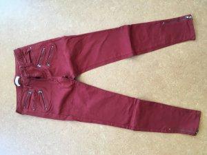 Zara skinny Jeans in Rostrot aus der Herbstkollektion