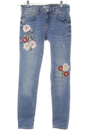 Zara Skinny Jeans mehrfarbig Casual-Look