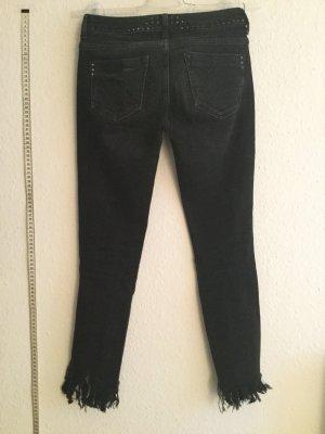 ZARA skinny jeans nieten besetzt