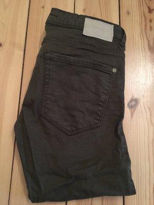 Zara skinny jeans olive 34
