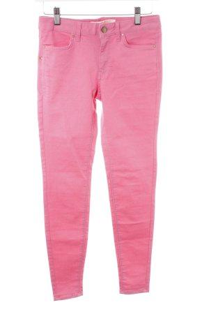 Zara Skinny Jeans pink Casual-Look