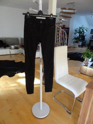 ZARA Skinny Jeans, schwarz, Gr. 36 wie 38
