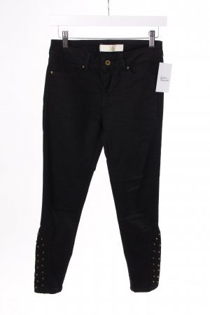 Zara skinny jeans black with rivets
