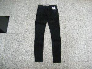 Zara Skinny Jeanshose Röhrenjeans Premium Collection schwarz Gr. 36 Neu NP: 50€