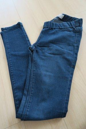 Zara Jeans elasticizzati blu scuro-blu