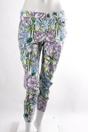 Zara Skinnyjeans Blumenprint